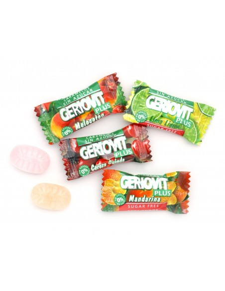 SUGAR FREE SOUR FRUIT CANDIES 750 G
