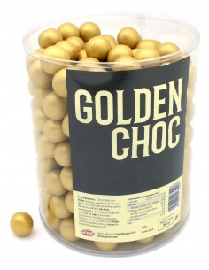 GOLDEN CHOC JAR 650g.