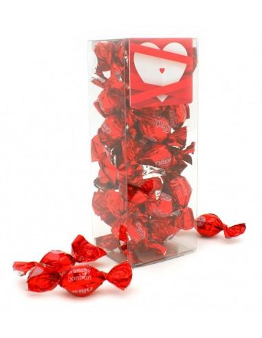 Estuche bombones San Valentín corazón