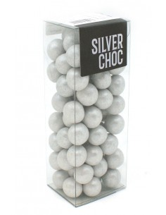 SILVER CRUNCH CHOCOLATES 190g.