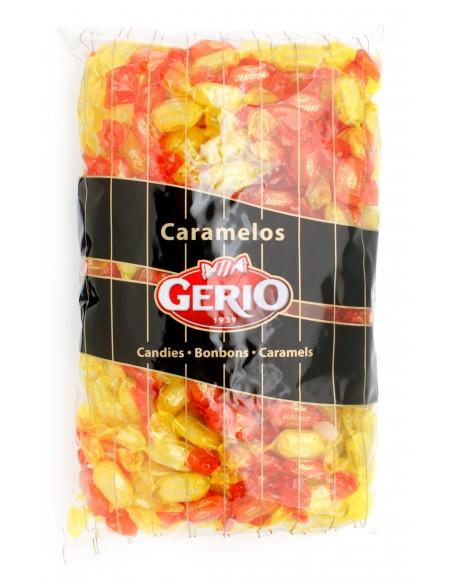 Bolsa surtido de caramelos sin gluten con extracto de jengibre al limón y naranja.
