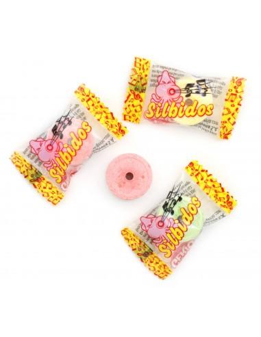 Silbidos - Caramelos de dextrosa tres...