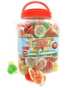 Jelly de fruites assortides...