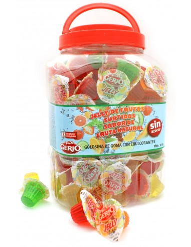 Jelly de fruites assortides SENSE...