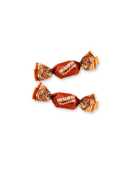 Caramelos sin gluten eucalipto mentolado de Gerio