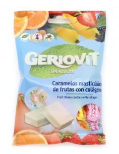 Caramelos masticables sin azúcar de frutas con colágeno