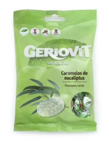 Caramels sense sucre d'eucaliptus - 75g.