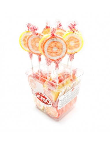 ROCK lollipops lemon & orange -...