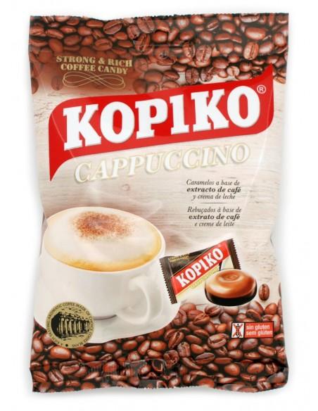 Caramels amb extracte de cafè Java sabor cappuccino.