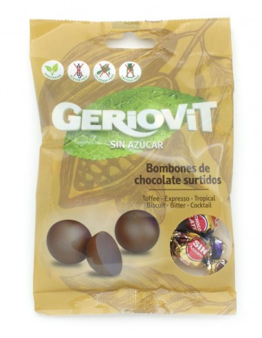 Sugar free flavoured chocolate balls...