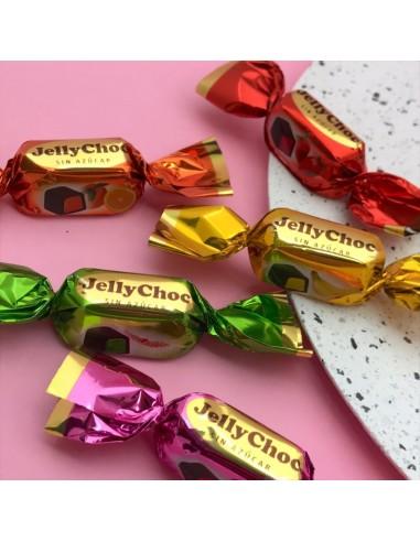 Jelly d'agar recobert de xocolata...