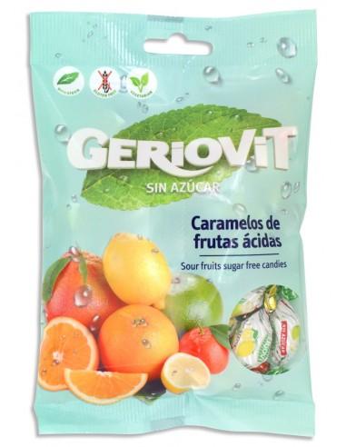 Caramelos de frutas ácidas Geriovit -...