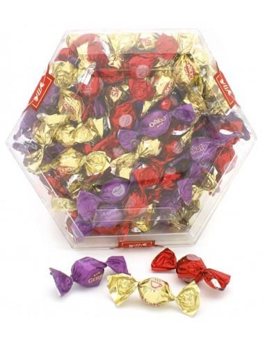 Bombones crujientes de chocolate surtido Skaty