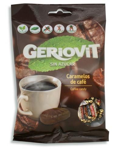 Caramelos sin azúcar Geriovit de café...