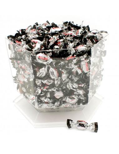Caramelos sin azúcar con extracto de regaliz. Sin gluten y con edulcorante natural Stevia.