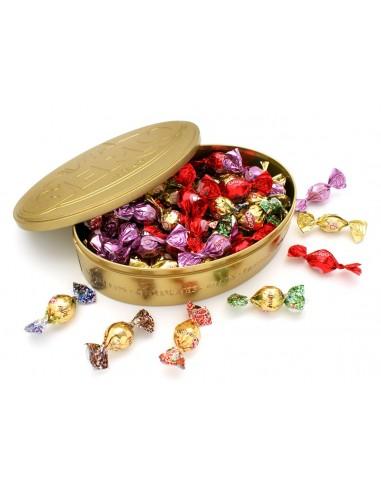 Lata surtida de chocolates 150g